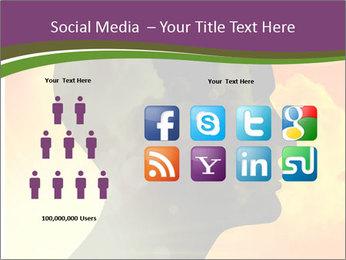 Human head PowerPoint Templates - Slide 5