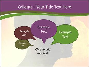 Human head PowerPoint Templates - Slide 73