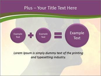 Human head PowerPoint Templates - Slide 75