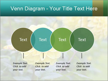 Yellow flower PowerPoint Template - Slide 32