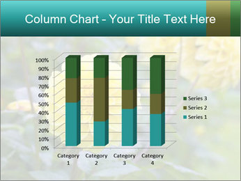 Yellow flower PowerPoint Template - Slide 50