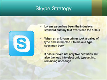Yellow flower PowerPoint Templates - Slide 8