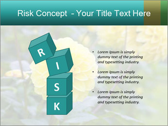 Yellow flower PowerPoint Template - Slide 81