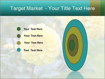 Yellow flower PowerPoint Template - Slide 84
