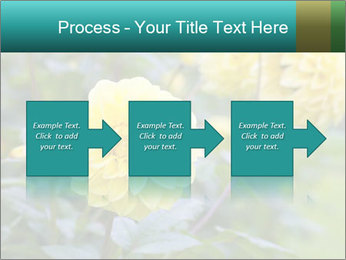 Yellow flower PowerPoint Templates - Slide 88