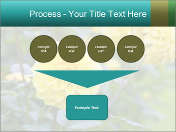Yellow flower PowerPoint Template - Slide 93