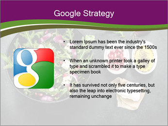 Fresh spring salad PowerPoint Templates - Slide 10
