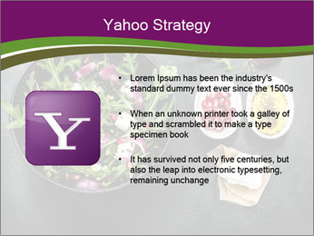 Fresh spring salad PowerPoint Templates - Slide 11