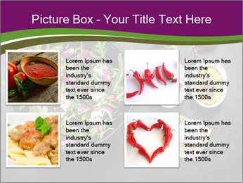 Fresh spring salad PowerPoint Templates - Slide 14