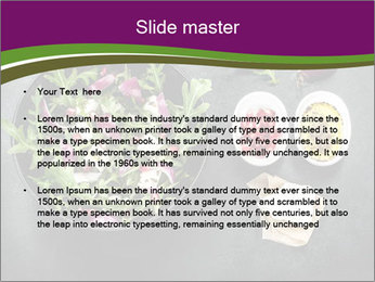 Fresh spring salad PowerPoint Templates - Slide 2