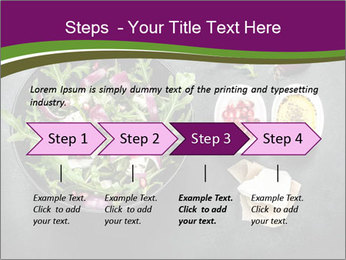Fresh spring salad PowerPoint Templates - Slide 4