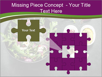 Fresh spring salad PowerPoint Templates - Slide 45