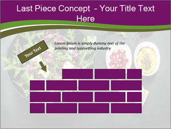 Fresh spring salad PowerPoint Templates - Slide 46