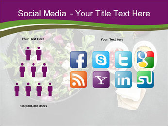 Fresh spring salad PowerPoint Templates - Slide 5