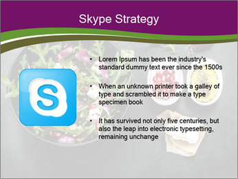 Fresh spring salad PowerPoint Templates - Slide 8