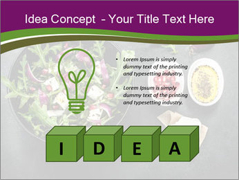 Fresh spring salad PowerPoint Templates - Slide 80
