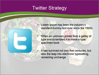 Fresh spring salad PowerPoint Templates - Slide 9