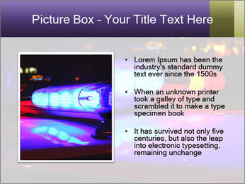 Police lights PowerPoint Template - Slide 13