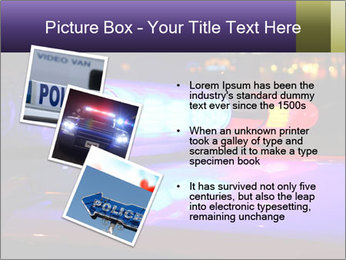 Police lights PowerPoint Template - Slide 17