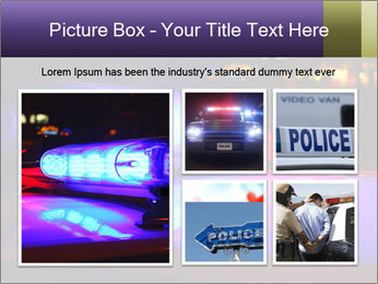Police lights PowerPoint Template - Slide 19