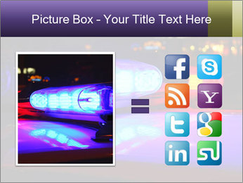 Police lights PowerPoint Template - Slide 21