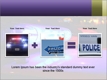 Police lights PowerPoint Template - Slide 22