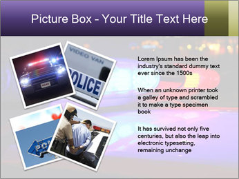 Police lights PowerPoint Template - Slide 23