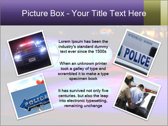 Police lights PowerPoint Template - Slide 24