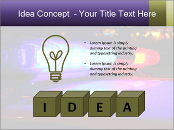 Police lights PowerPoint Template - Slide 80