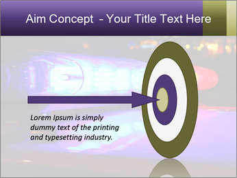 Police lights PowerPoint Template - Slide 83