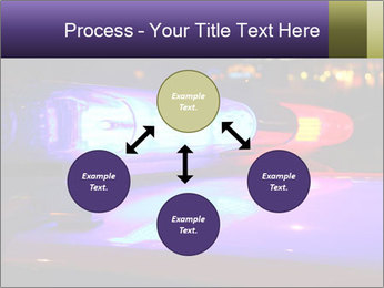Police lights PowerPoint Template - Slide 91