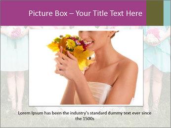 Wedding bouquet PowerPoint Templates - Slide 15