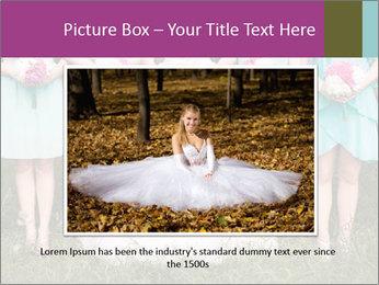Wedding bouquet PowerPoint Templates - Slide 16