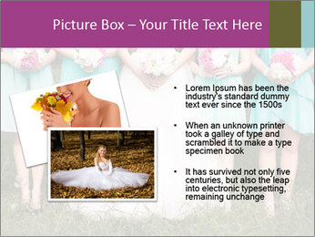 Wedding bouquet PowerPoint Templates - Slide 20