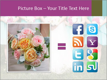 Wedding bouquet PowerPoint Templates - Slide 21