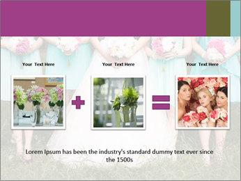 Wedding bouquet PowerPoint Templates - Slide 22