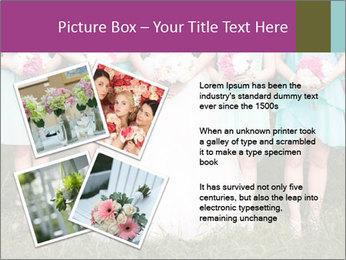 Wedding bouquet PowerPoint Templates - Slide 23