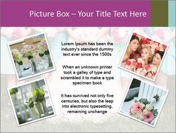 Wedding bouquet PowerPoint Templates - Slide 24