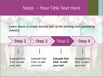 Wedding bouquet PowerPoint Templates - Slide 4