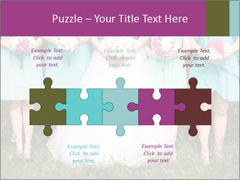 Wedding bouquet PowerPoint Templates - Slide 41