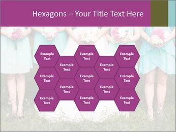 Wedding bouquet PowerPoint Templates - Slide 44