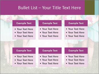 Wedding bouquet PowerPoint Templates - Slide 56