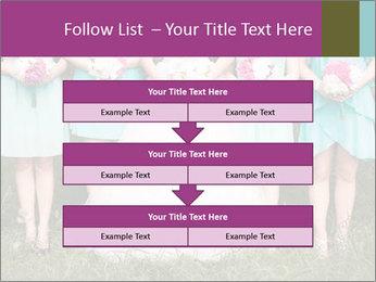 Wedding bouquet PowerPoint Templates - Slide 60