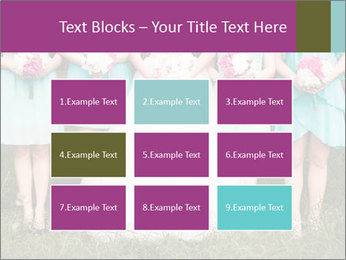 Wedding bouquet PowerPoint Templates - Slide 68