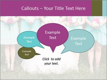 Wedding bouquet PowerPoint Templates - Slide 73