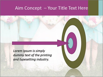 Wedding bouquet PowerPoint Templates - Slide 83
