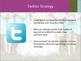 Wedding bouquet PowerPoint Templates - Slide 9