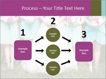 Wedding bouquet PowerPoint Templates - Slide 92