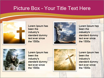 Crosses on a hill PowerPoint Templates - Slide 14