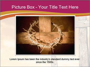 Crosses on a hill PowerPoint Templates - Slide 16